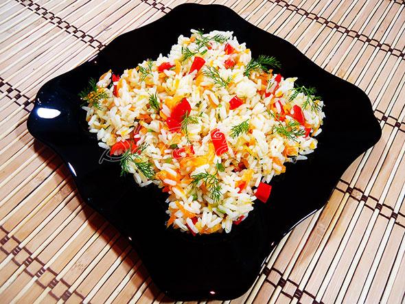 ბრინჯის სალათა