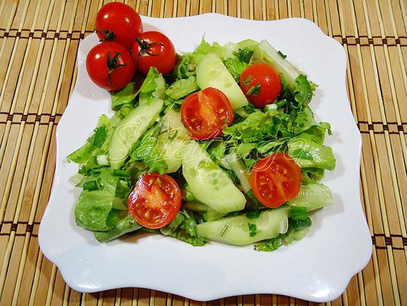 მწვანე სალათა
