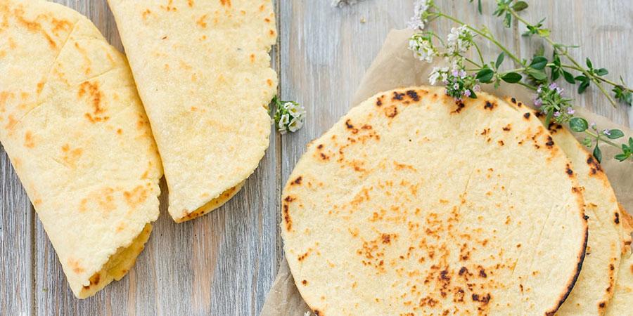 ტორტილა. უსაფუარო მექსიკური პური